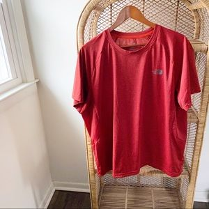 The North Face Men's Workout Red Top✨